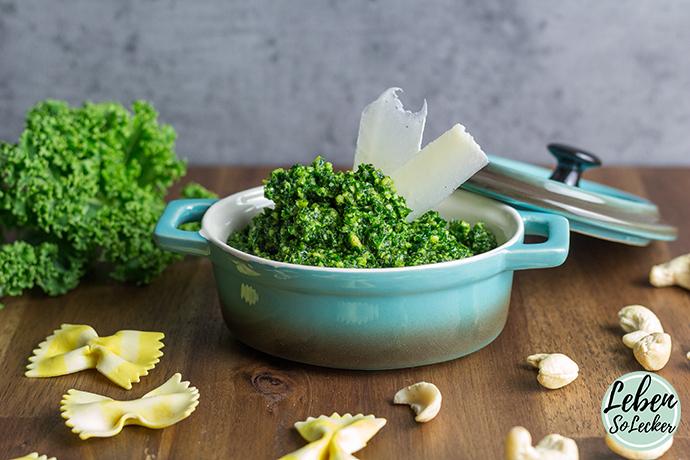 Grünkohl Pesto