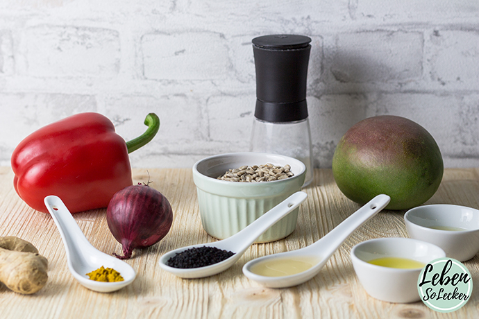 Mango-Schwarzkuemmel-Aufstrich Zutaten