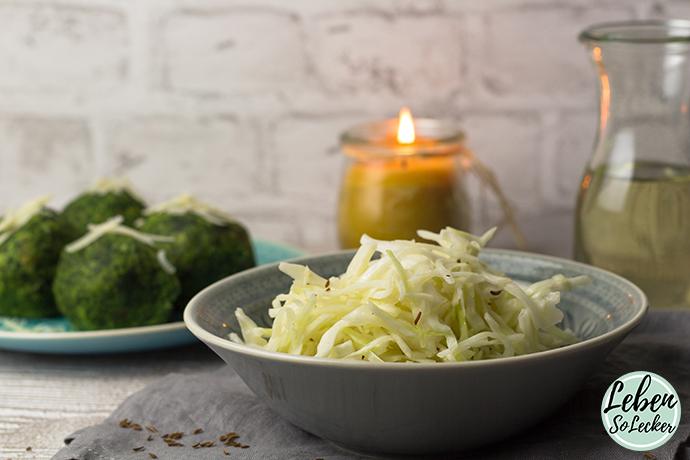 Suedtiroler Krautsalat Gericht